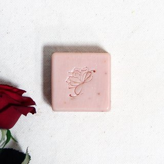 Peppermint Rose Soap | Oily, Combination Oily Skin Pure Rose Organic Rose