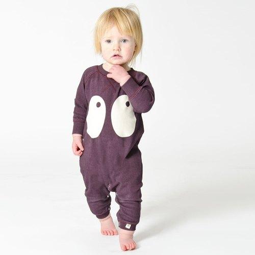 Sweden Nordic Design Bigeye Playful Organic Cotton Clothing Bag