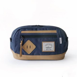 Matchwood Wood Design Matchwood Density Waist Side Backpack Navy Blue Fixed Gear Reference