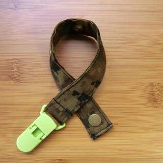 Digital camouflage - clip type nipple chain / toy belt