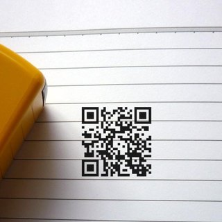 S530-3.2 cm-QR Code Chapter QR Chapter Back to ink chapter Water-based ink printing Flip chapter chapter shop chapter private chapter