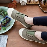 FREE 橄欖綠 (剩下JAP23.0=EUR36) 回歸原創本質(帆布鞋/懶人/休閒鞋) 國民休閒鞋台灣良品 Southgate 南登機口