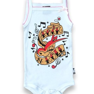 Cute baby Rock Rock N'Roll - baby clothing bag fart
