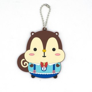Squly PVC Keychain (Alice in Wonderland) - E049SQS