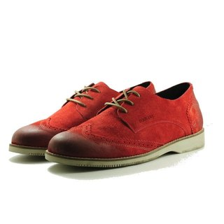 Surprise Specials [Dogyball Out of Print]Autsin Classic Carved Oxford Shoes British College Wind Red