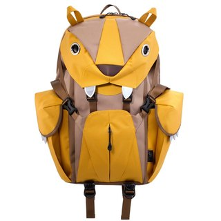 Morn Creations Genuine Cute Tiger Computer Backpack - Yellow (BC-220-MU)