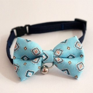 【Miya ko. Grocery cloth hand made] cats and dogs bow tie / tweeter / bow / folk style / vintage style / pet collar