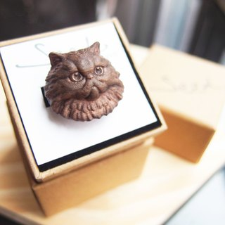 3D Print ~ Persian cat Ring