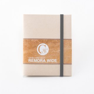 Ultra Light Wallet REMORA Wide / Ivory&Gray