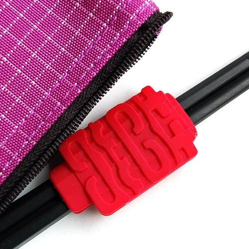 Happiness is coming chopsticks chopsticks holder group _ bags purple