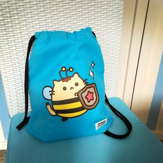Dollmei backpack _ _ bee confidence after cute cats beam port Backpack (blue)