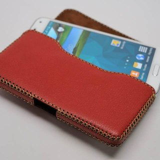Samsung S5 Horizontal Leather Case