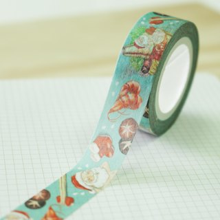 [Santa Claus] paper tape pot