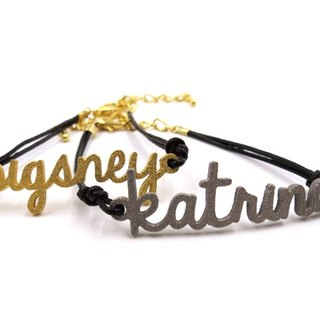 Customized Name Bracelet - Three Dimensional Printing x tête-à-tête - bracelet x Personalized