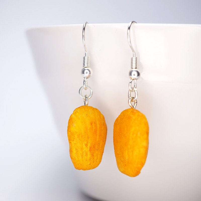 *Playful Design* The Madeleine Cake Drop Earrings