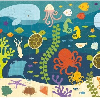 US petitcollage floor puzzles - Underwater World