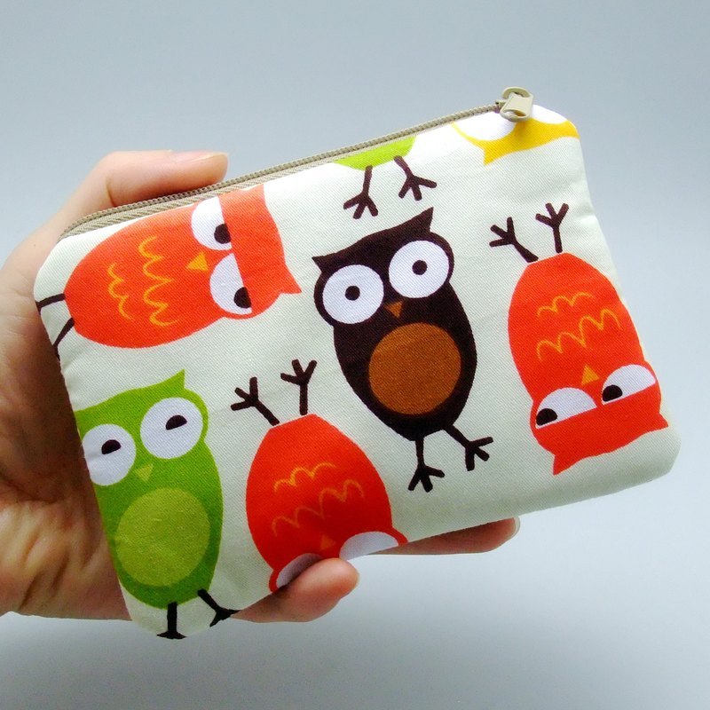 Zipper pouch / coin purse (padded) (ZS-131)