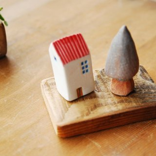 Happiness micro city - Ceramic Christmas D