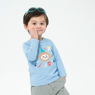 Let's Go Party Boys Cotton Top - Aqua Blue