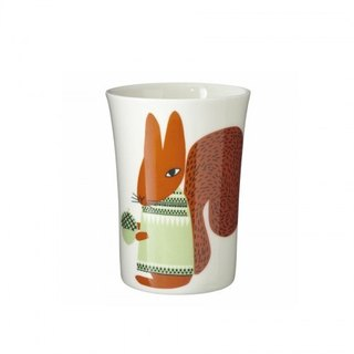 Squirrel bone china cup | Donna Wilson
