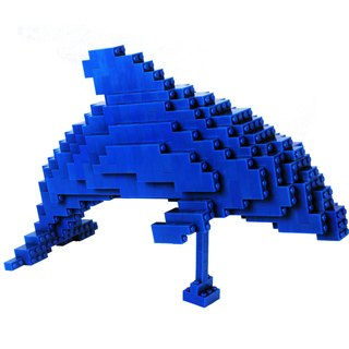 Master Builder - Blue Dolphin (DOLPHIN)