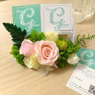 l flower now card holder l*non-withered flower. star flower. immortal flower*wedding small objects