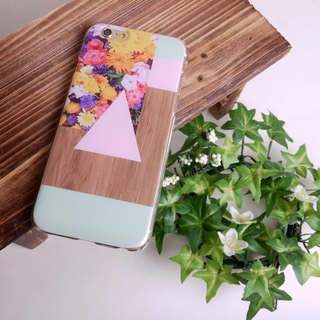 Woodwood Brown 13 Pink + Green Print Soft / Hard Case for iPhone X,  iPhone 8,  iPhone 8 Plus,  iPhone 7 case, iPhone 7 Plus case, iPhone 6/6S, iPhone 6/6S Plus, Samsung Galaxy Note 7 case, Note 5 case, S7 Edge case, S7 case