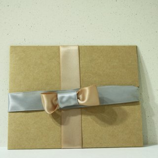 Leather ribbons | packing wrapper
