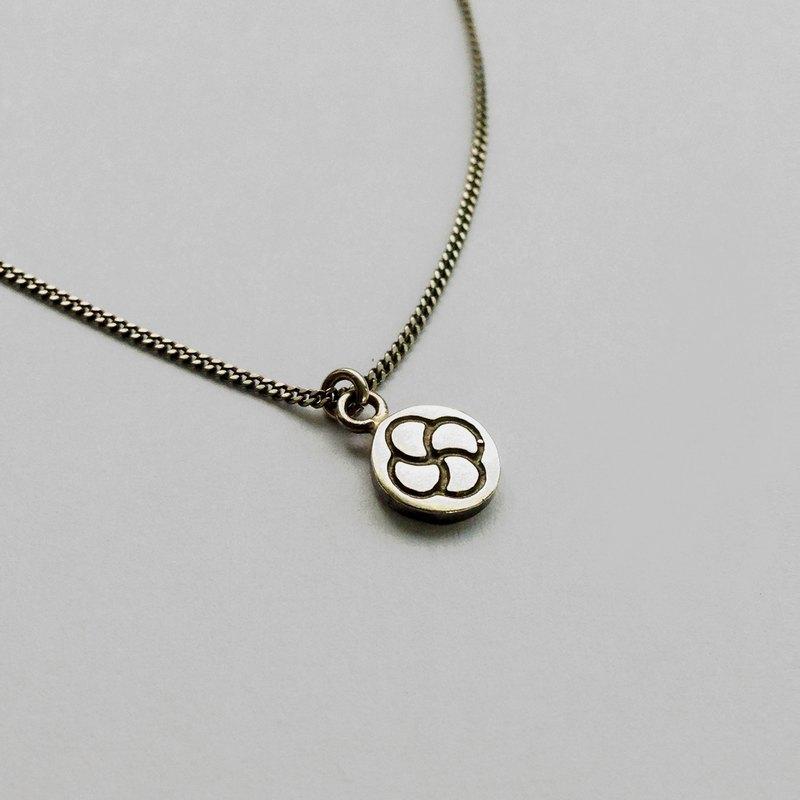 [幾何形] 圓華-純銀項鍊