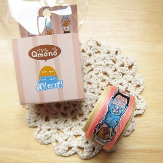 Qmono x [eh!cat!] Joint paper tape [Hand in hand (QMT-EH03)] * Lace