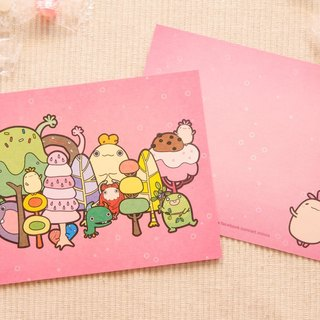 Goblin forest dessert party ● Postcards