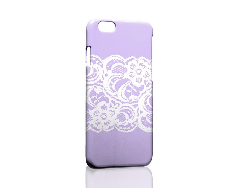 Purple White Lace Custom Samsung Samsung S5 S6 S7 note4 note5 iPhone 5 5s 6 6s 6 plus 7 7 plus ASUS HTC m9 Sony LG g4 g5 v10 phone shell mobile phone sets phone shell phonecase