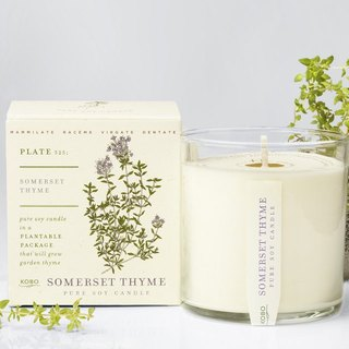 KOBO series of non-genetically modified soybean seeds fragrance candle - Barry Aromatic