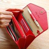 母親節-PLEPIC -Holiday旅程假期護照手拿皮夾-覆盆莓紅,POJ92030