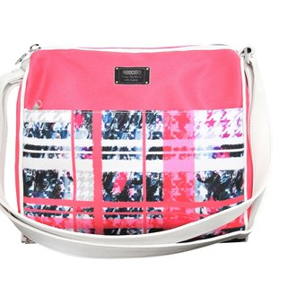 COPLAY  shoulder bag- Pink Plaid sweet heart