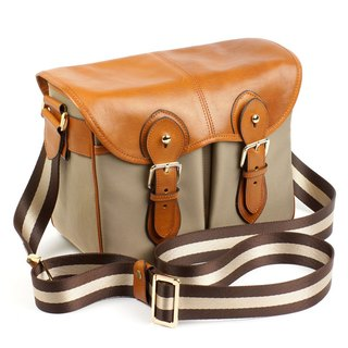 MartinDuke SVEN British Style Camera Bag Camel / Brown Medium