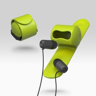 Snappy earphone butler-Green