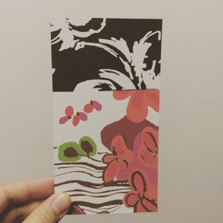 Flower Shadow - Postcard / exchange / send a letter / Share / Save / tour / friend