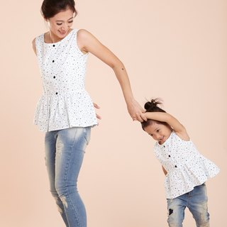 Light sweet Family fitted vest - ocean winds stars