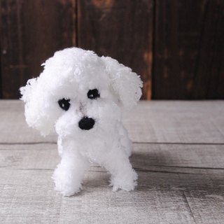 Pet avatar) 12 ~ 15cm [Feiwa Jan baby hand made] Maltese doll (welcome to order your dog)