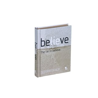 Jiukoushan original 320page kraft paper hardcover creative notebook-Believe (2013 version)