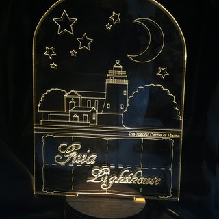 LightXLife 3D night light - lighthouse