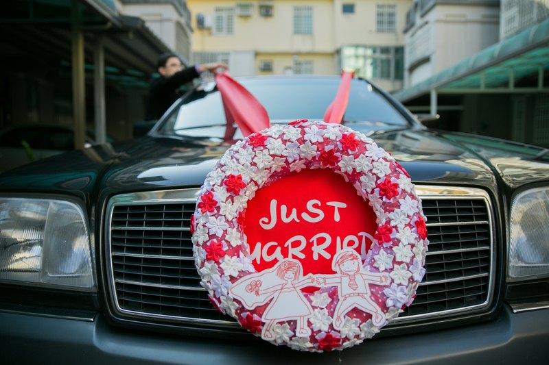 結婚禮車娃娃設計