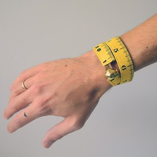 Mian foot strap. Measuring Tape Bracelet. Hands to love your creation