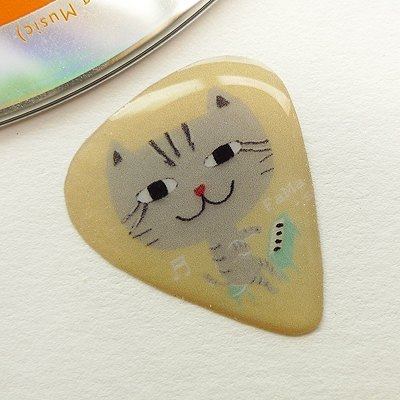 FaMa's Pick Guitar Sling Cat Band Piano Tabby Cat