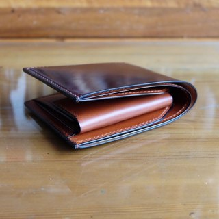Mildy Hands - SW01COIN - Short clip (Horween shell cordovan wallet)