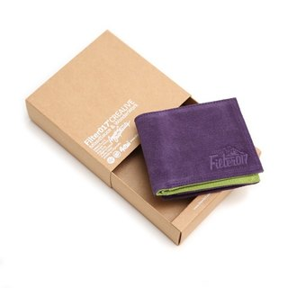 Filter017 Outdoor Logo Suede Wallet 麂皮皮夾