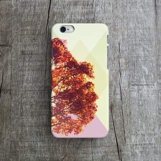 Autumn Leaves- Designer iPhone Case. Pattern iPhone Case. One Little Forest