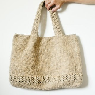 His aging mother to go to work every large bag handmade hemp