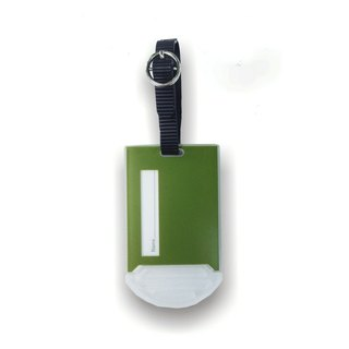 Castle Series luggage tag - Forest Green